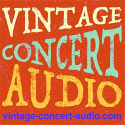 Vintage Concert Audio
